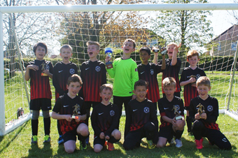 Under 10s Red team photo