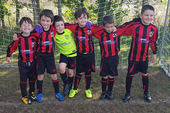 Under 7s Red team photo