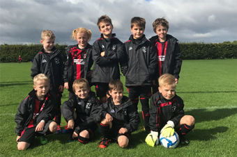 Under 8s Red team photo