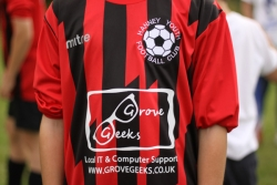 New kit sponsors for Under 13s